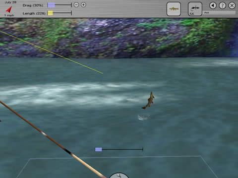 Fish  Game on Intelligent Fish Behavior The Fish Swim Feed Strike And Fight Just