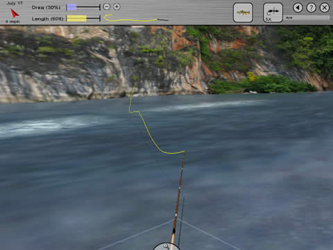 Flysim fly fishing game features for Fly fishing games